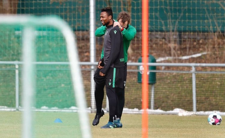 Hannover 96 forward Patrick Twumasi makes injury return