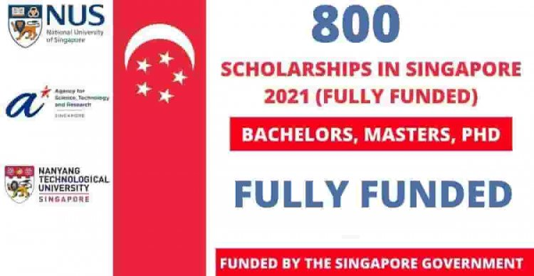 Singapore Government Scholarship 2022 | Fully Funded